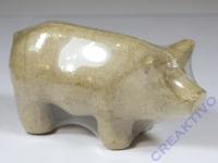 Pappmaché Schwein