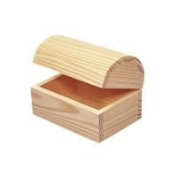 Holz-Truhe 13x9x9 cm