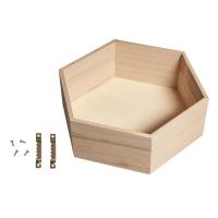 Holz Tray 28x24x8cm