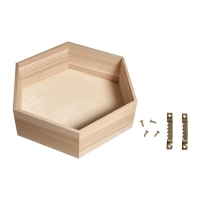 Holz Tray 23x19,8x8cm