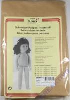 Schweizer Puppen-Tricotstoff extra fein hell-beige 1m