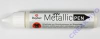 Rayher Metallic Effekt-Pen elfenbein