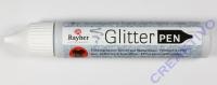 Rayher Glitter Effekt-Pen silber