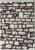 Embossing-Folder Trockenmauer 5 x 7