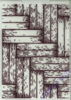 Embossing-Folder Parkett 5 x 7