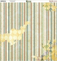 Bo Bunny Scrapbookingpapier Provence - Aroma (Restbestand)