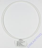 Metallring beschichtet weiß 12cm