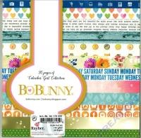 Bo Bunny Scrapbooking-Block Calendar Girl 15,2x15,2cm