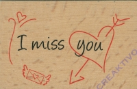 Stempel You make me smile (Restbestand)