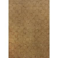 Kork-Papier Mosaik selbstklebend
