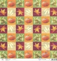 Rayher Scrapbooking papier Herbst Mosaik (Restbestand)