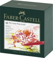Tuschestift PITT Artist Pen Brush 48er Atelierbox
