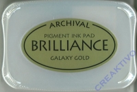 Archival Ink Stempelkissen Brilliance Galaxy Gold