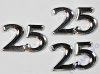 Jubiläumszahlen 25 (Restbestand)