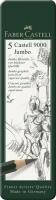 Bleistift CASTELL 9000 Jumbo 5er Etui