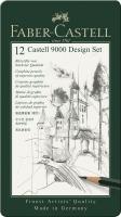 Bleistift CASTELL 9000 12er Design Set