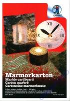 Marmorkarton Mappe 5 Blatt