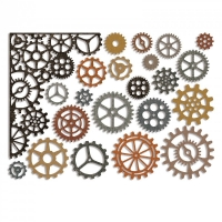 Sizzix Thinlits Die Set 22PK - Gearhead