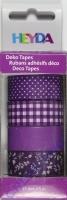 Heyda Deko Tapes Muster lila