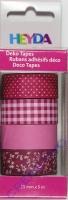 Heyda Deko Tapes Muster pink