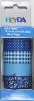 Heyda Deko Tapes Muster blau