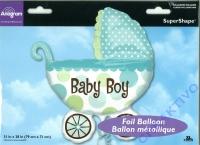 Folieballon 79cm x 71cm Baby Boy