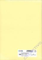 Heyda Tonpapier DIN A4 130g/m² vanille 100 Blatt