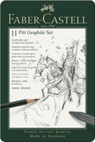 Set PITT Graphite Metalletui