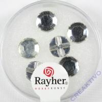 Glas-Strasssteine kristall 6St 8,5mm