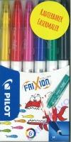 Frixion Radierbare Fasermaler Set 6 Stifte