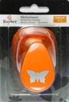 Motivstanzer Schmetterling 2,54cm 1