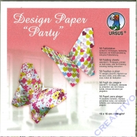 Design paper Party 15x15cm