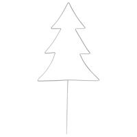 Drahtform Tannenbaum zum Stecken