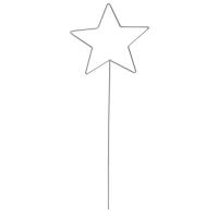 Drahtform Stern zum Stecken