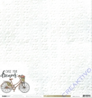 Scrapbooking-Papier Kaisercraft Boho Dreams - P2114 Adventurer