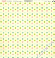 Scrapbooking-Papier Authentique Springtime - Four