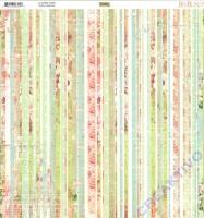 Scrapbooking-Papier Bo Bunny Soirée - Stripe