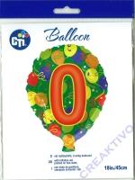 Folienballon 0 45cm