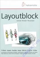 Hahnemühle Layoutblock DIN A3 75 Blatt 75g/qm