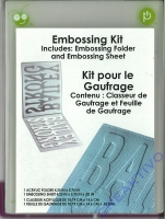 Cricut Cuttables Embossing Kit (Restbestand)