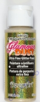 DecoArt Glamour Dust Ultra Fine Glitter Paint 59ml - gold glitz