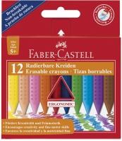 Faber-Castell Radierbare Kreide GRIP 12er Kartonetui