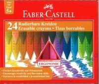 Faber-Castell Radierbare Kreide GRIP 24er Kartonetui