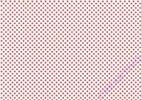 Pünktchen-Fotokarton 300g/qm 49,5x68cm rot/weiß