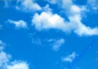 Motiv-Fotokarton 300g/qm 50x70cm Himmel - Weltall / Wolken