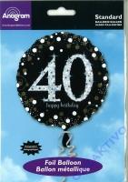 Folienballon 40 - 18 / 45cm