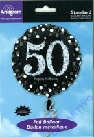 Folienballon 50 - 18 / 45cm