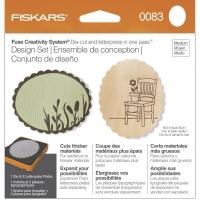 Einzelst�ck Fiskars Fuse Design Set mit Erweiterungsset (neuwertig)