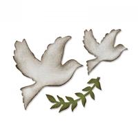 Sizzix Bigz Die - Enchanted Doves