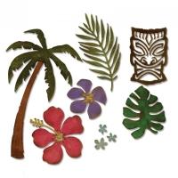 Sizzix Thinlits Die Set 8PK - Tropical
